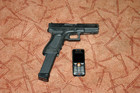glock17 with 33 rounds magazine